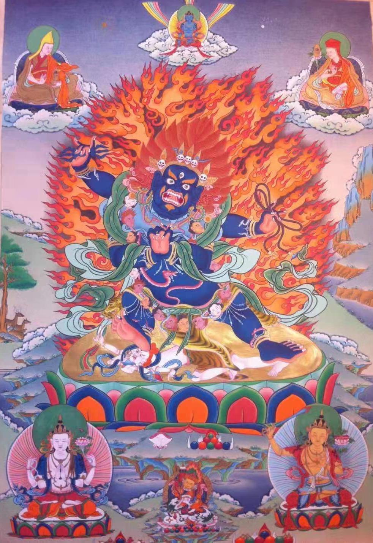 AROSIO EN (IT)SHRI VAJRAPANI BHUTADAMARA - Khenpo Tashi Sangpo
