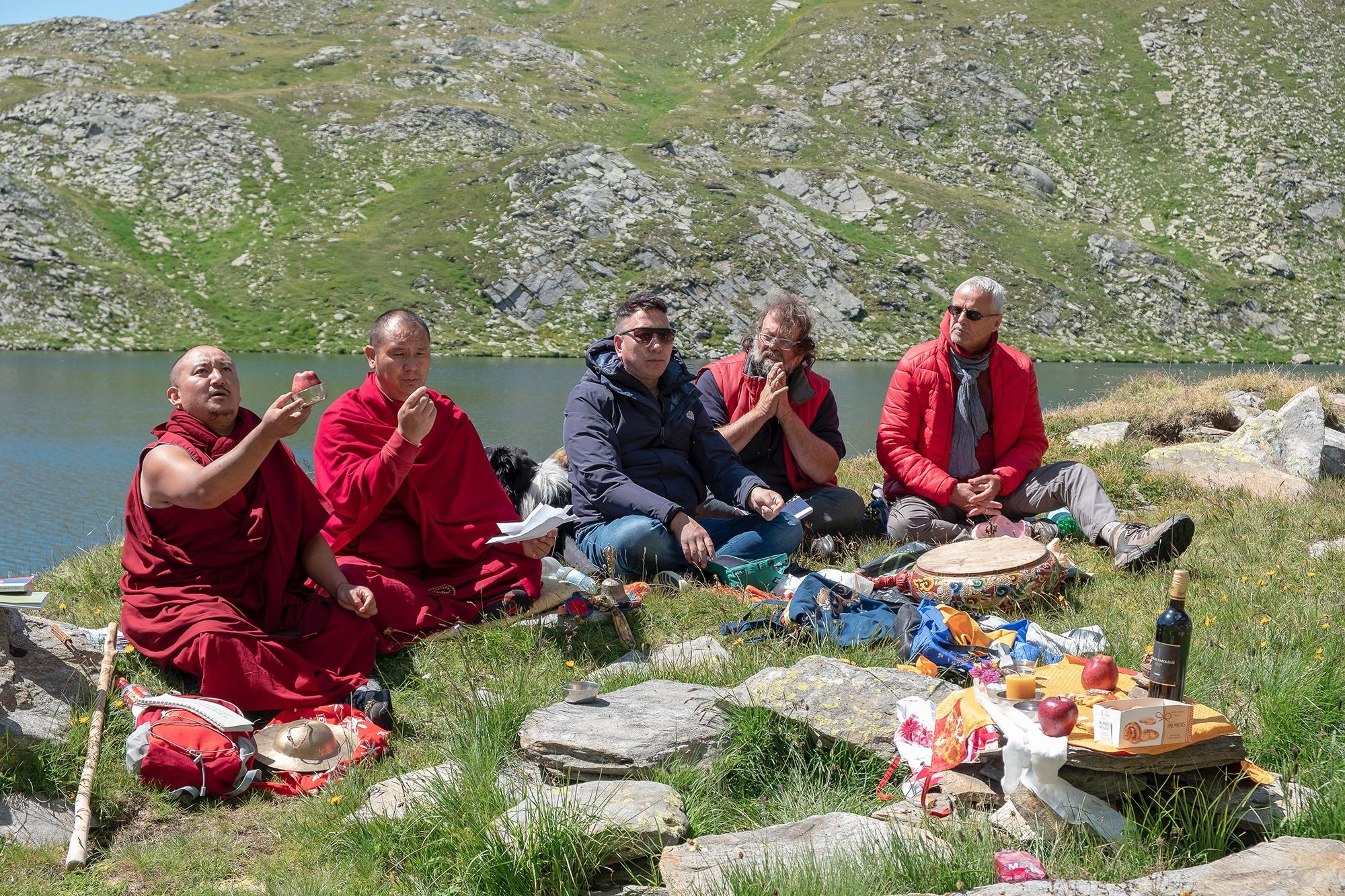 TARA RITUAL AND LAMA GENDUN'S FAREWELL PARTY