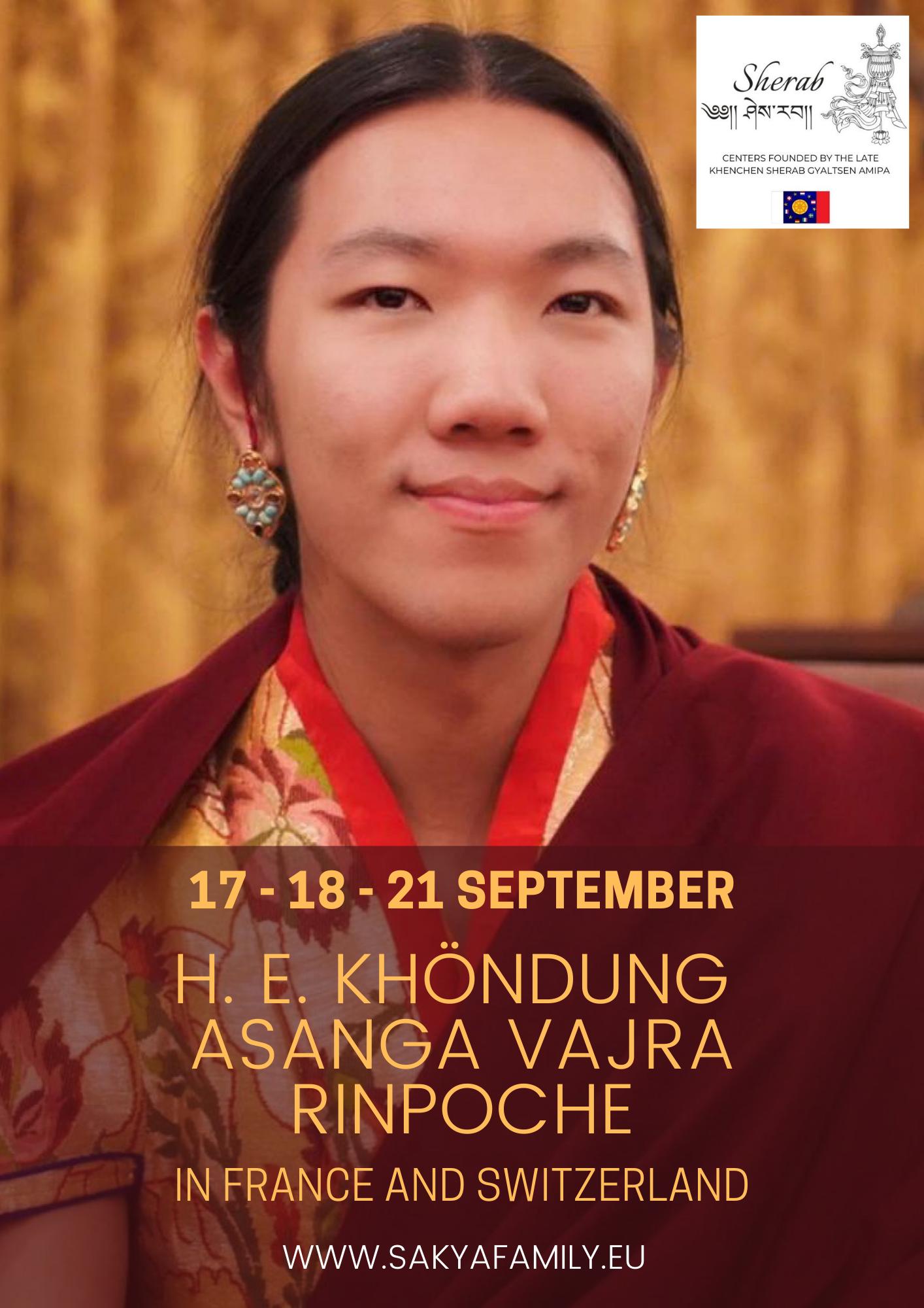 AROSIO EN (IT, ES, FR, DE, Catalan, NL) -S. E. Khöndung Asanga Vajra Rinpoche